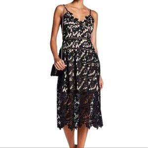 Nordstrom Midi Lace Dress